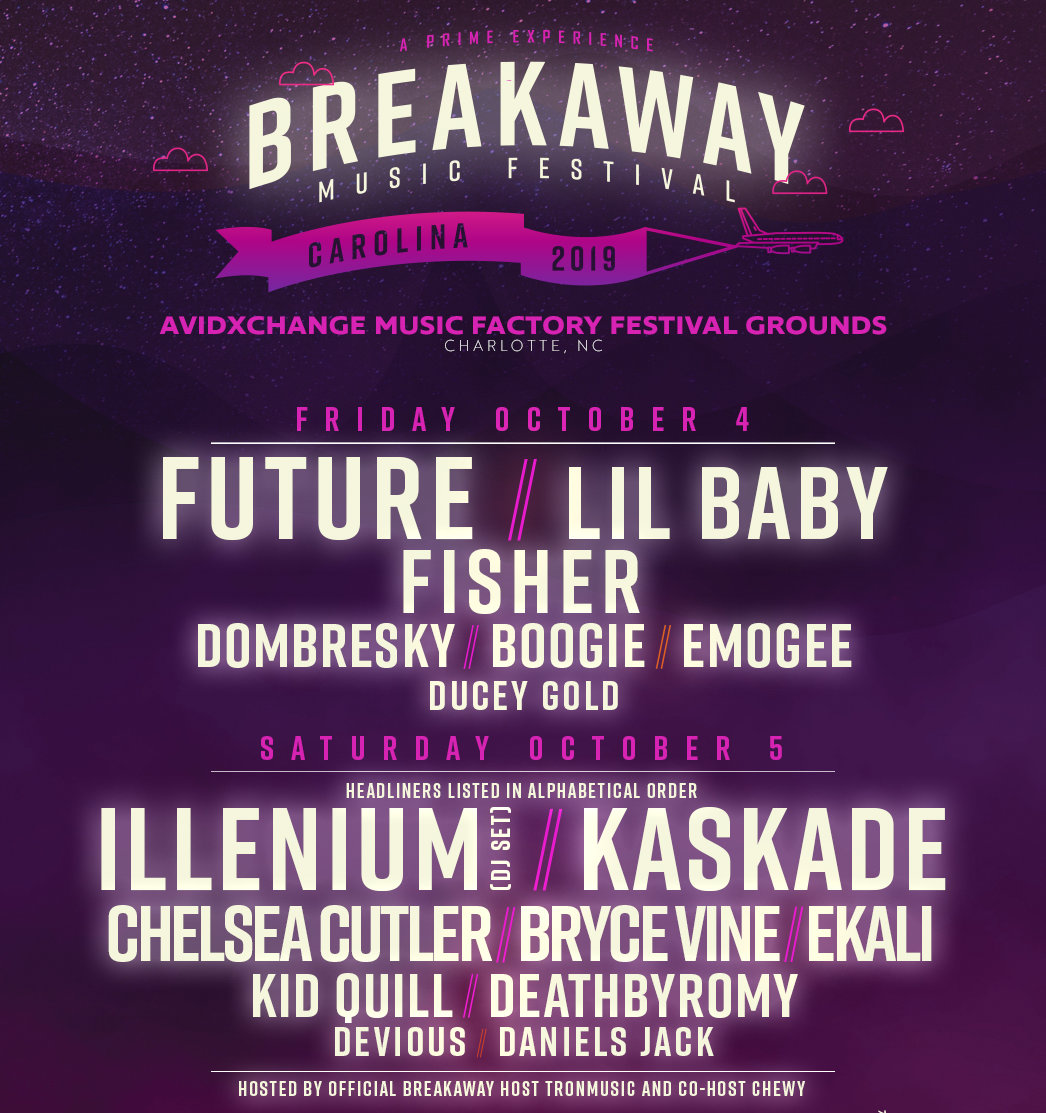 Bryce Vine to play Breakaway Festival in Charlotte
